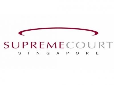 SUPREME COURT SINGAPORE  (DIGITAL SIGNAGE)
