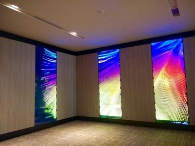LCD VIDEO WALL (HOTEL LOBBY)