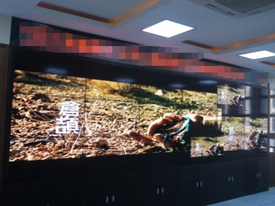 LCD VIDEO WALL (SCHOOL CONFERENCE ROOM)